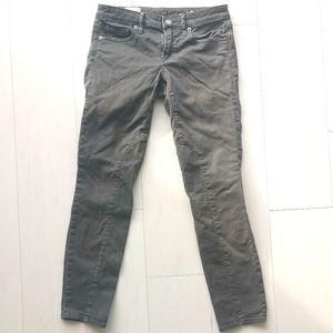 Gap moto jeans grey